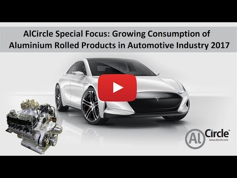 AlCircle Special Focus: Growing Cosumption of Aluminium Rolled Products in Automotive Industry 2017