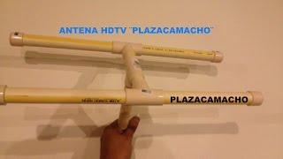✔COMO VER TELEVISION HDTV, ANTENA TIPO H. EXTRA POTENTE.
