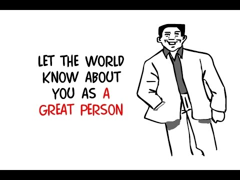 Make Your Personal Profile Known By The World! Use Whiteboard Animation Video
