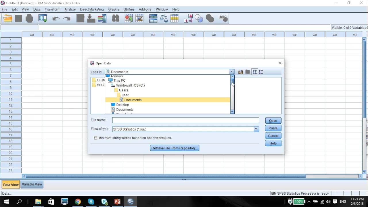 Vid24 Mediation Analysis Using SPSS Process