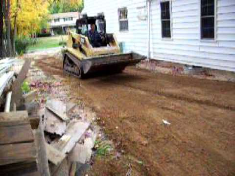 Regrading A Side Yard