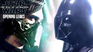 The Rise Of Skywalker Opening Scene Leaks Will Shock Fans (Star Wars Episode 9)