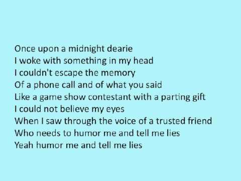 Run-Around by the Blues Traveler Lyrics