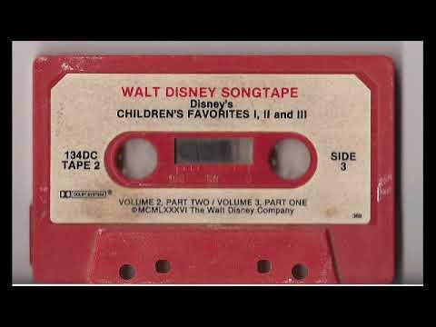 Disney Children's Favorites Vol. 1, 2, and 3 TAPE 2