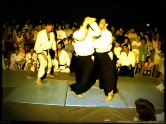 Twenty years ago - Aikido show in Greece -Bratislav Stajic