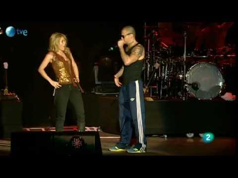 Gordita - Shakira y René de Calle 13 - Rock in Rio Madrid 2010 #1