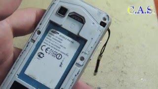видео Прошивка Samsung S5230 Разблокировка s 5230 Сброс настроек