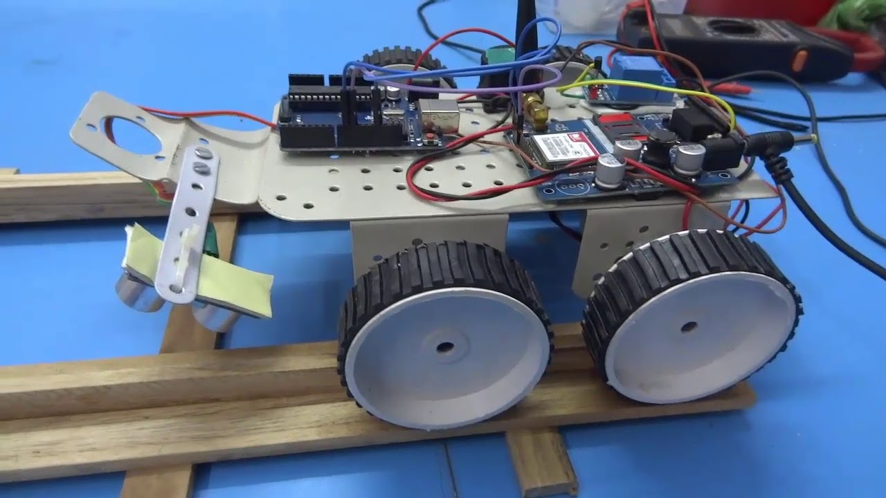 railway track fault detection system