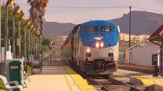 Amtrak Southwest Chief, Coast Starlight & Surfliners (November 16th, 2013)
