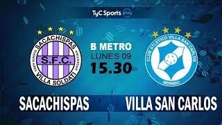 Sacachispas FC vs Villa San Carlos full match