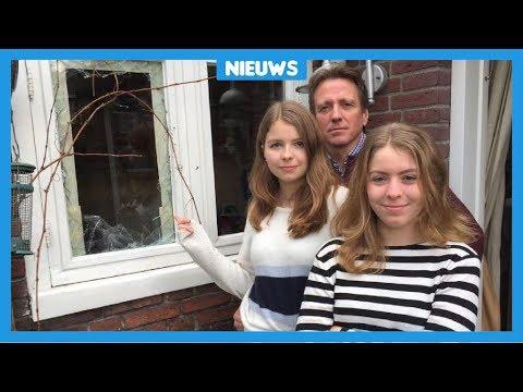 Nina (16) pakt een inbreker op