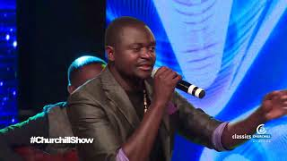Yunasi Performs Ji opogore On Churchill Show