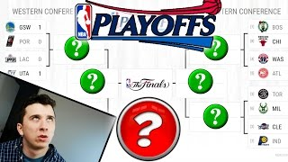 Can I Predict The Whole NBA Playoffs? NBA 2017 Playoff Bracket