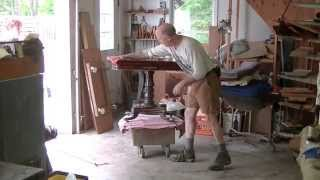 Restoring A Regency Card Table - Thomas Johnson Antique Furniture Restoration