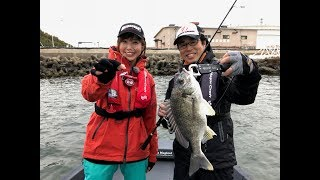 大阪湾岸ボートチヌ(ルアルアチャンネル/2018/4/18放送) thumbnail