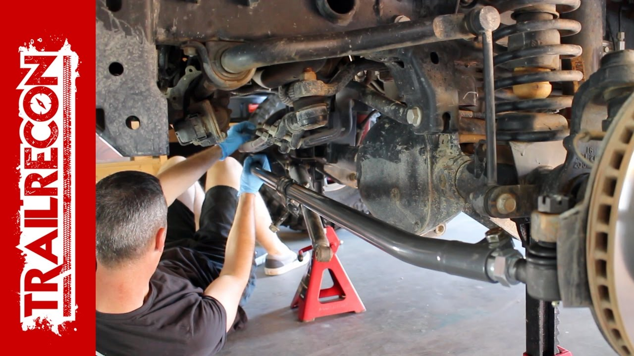 Outer Tie Rod End >> How To Install a Tie Rod - Synergy Tie Rod for a Jeep ...