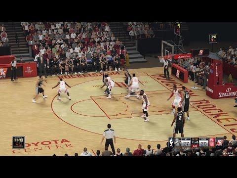 NBA 2K15 San Antonio Spurs Vs Houston Rockets 06-11-2014