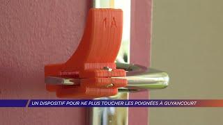 Yvelines | Un dispositif pour ne plus toucher les poignées à Guyancourt