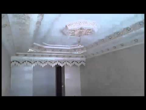 Decoration Platre Plafond Maroc Par Societe Duoulhint Youtube