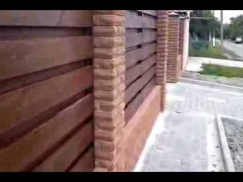 Деревянные ворота и забор Maximet в Харькове