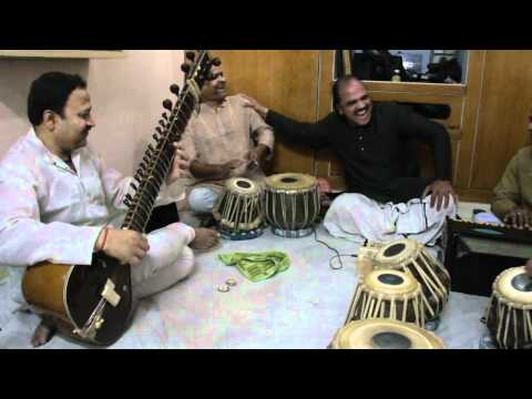 A House concert in Varanasi on March 19, 2011