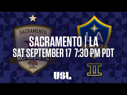 WATCH LIVE: Sacramento Republic FC vs LA Galaxy II 9-17-16