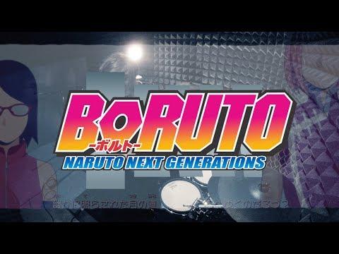 【 BORUTO-ボルト-】Scenarioart - Sayonara Moon Town full Drum Cover / Naruto Next Generations Ending 2