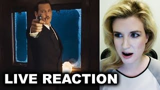 Murder on the Orient Express Trailer 2 REACTION