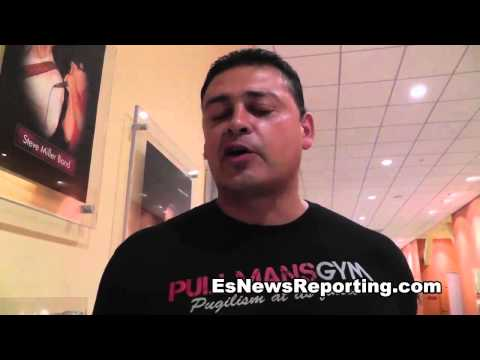 cutman mike rodriguez wears shirt on hbo to help 10 year old fight brain cancer - EsNews Boxing