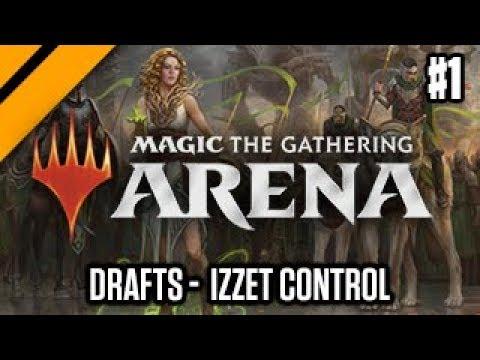 MTG: Arena - Izzet Control P1   Guilds of Ravnica Quick Draft (sponsored)