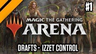 MTG: Arena - Izzet Control P1 | Guilds of Ravnica Quick Draft (sponsored)