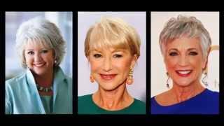 Frauen brillen ab 60 für Pfiffige frisuren