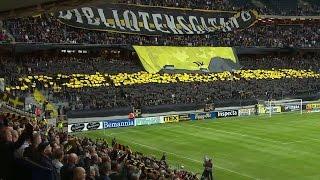 Se AIK:s och Hammarbys mäktiga derbytifo - TV4 Sport