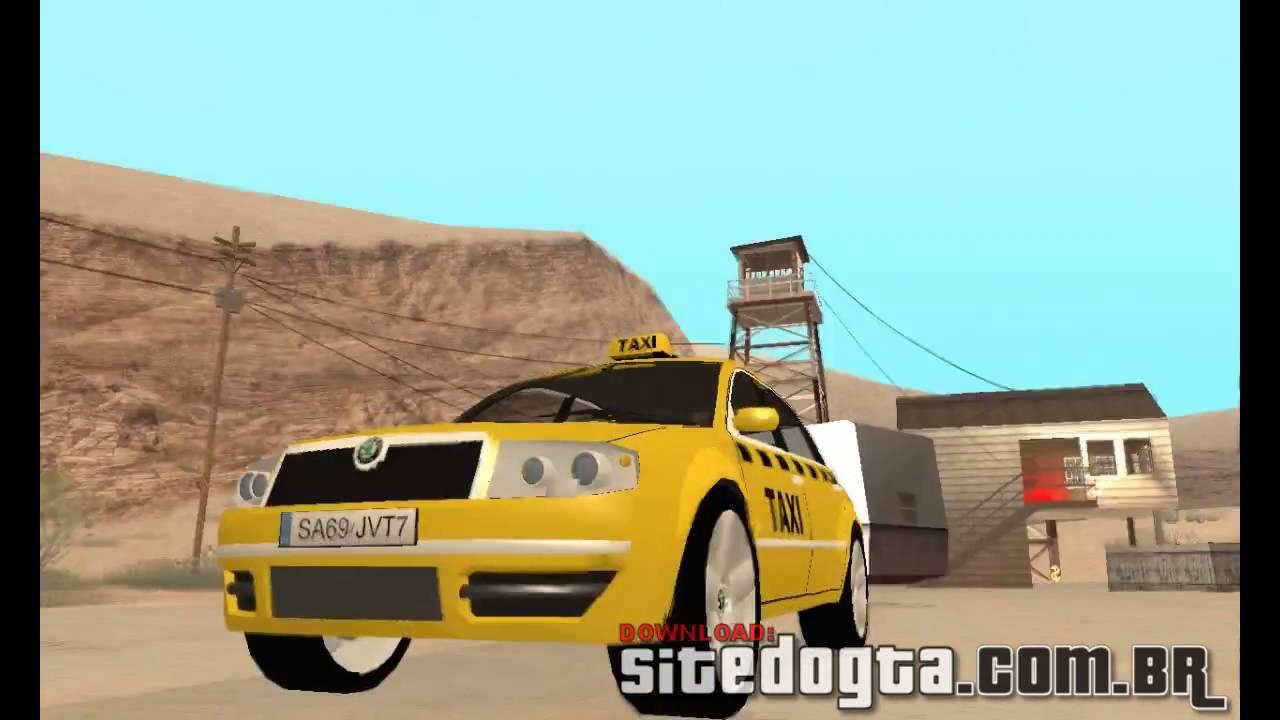 Gta san andreas ford crown victoria la taxi mod gtainside. Com.