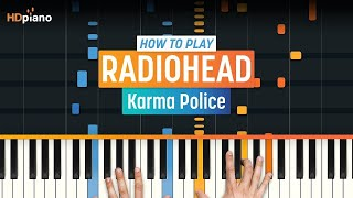 "How To Play ""Karma Police"" by Radiohead 