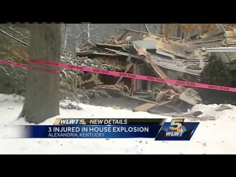 Police investigate house explosion in Alexandria
