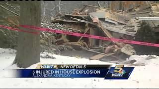Police investigate house explosion in Alexandria