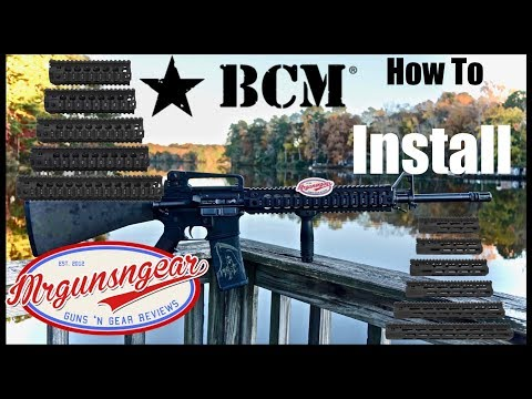 How To Install Bravo Company QRF & MCMR AR-15 Handguards