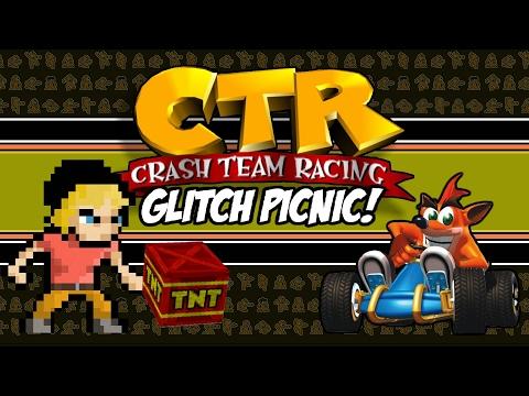Crash Team Racing Glitch Picnic! | CTR Glitches (Playstation 1) | MikeyTaylorGaming