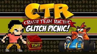 Crash Team Racing Glitch Picnic! | CTR Glitches (Playstation 1) | MikeyTaylorGaming