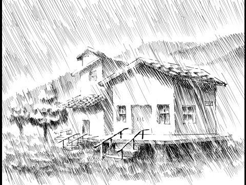 Cómo entintar una escena con lluvia (PARTE 1-2) - YouTube