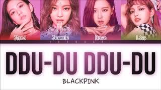 Blackpink DDuDuDDuDu lyrics