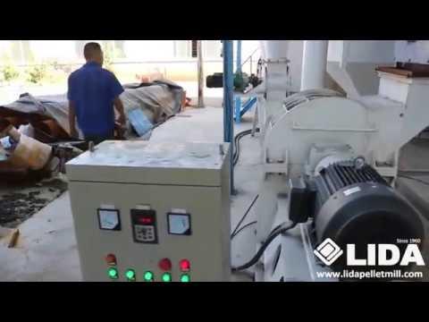 LIDA 1.5 Ton per hour wood pellet production line