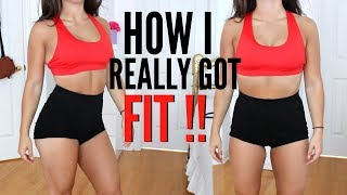 FIT PEOPLE HACKS! How I REALLY Got FIT !! thumbnail