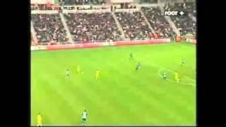 Enorme but de Remi Mareval (FC Nantes - OM, La Beaujoire, 29/10/08)