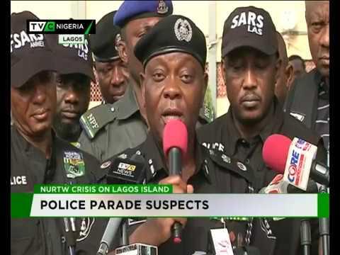 Ex-Lagos NURTW boss, Olorunwa paraded for alleged murder streaming vf