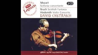 MOZART: Sinfonia Concertante in E flat major KV 364 / Oistrakh · Oistrakh · Kondrashin