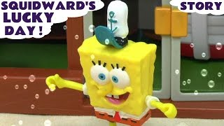 Spongebob Squarepants & Thomas and Friends Play Doh Story Episode - Lucky Day