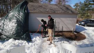Common Site issues after renovation with Steve and Alec Fixing Extra Outdoor Storage After Storm