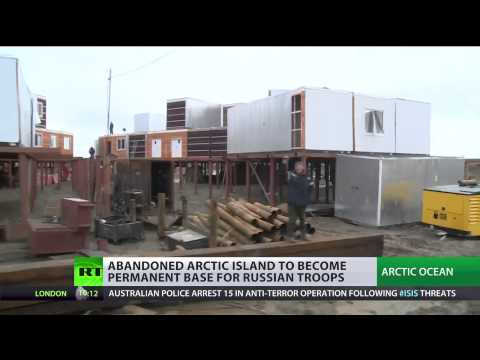 Abandoned Arctic island to become base for Russian troops